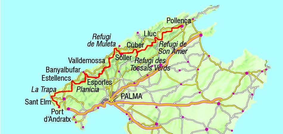 Weitwanderweg Gr 221 Mallorca Erleben